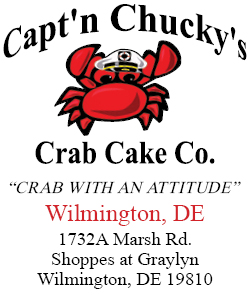 Captn Chuckys Crab Cake Co Wilmingotn DE