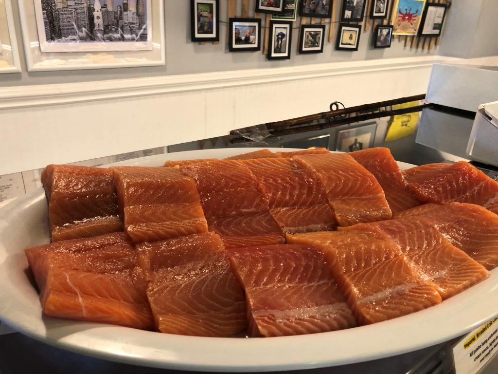 Fresh Caught Scottish Salmon